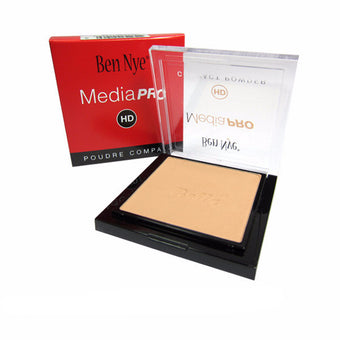 Ben Nye MediaPRO Bella Poudre Compact Powder - Full size compact - Bella 005 (HDC-005) | Camera Ready Cosmetics - 9