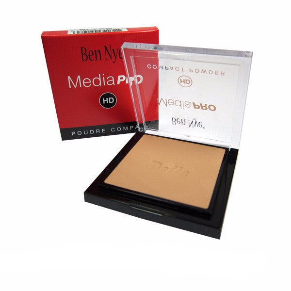Ben Nye MediaPRO Bella Poudre Compact Powder - Full size compact - Bella 006 (HDC-006) | Camera Ready Cosmetics - 10