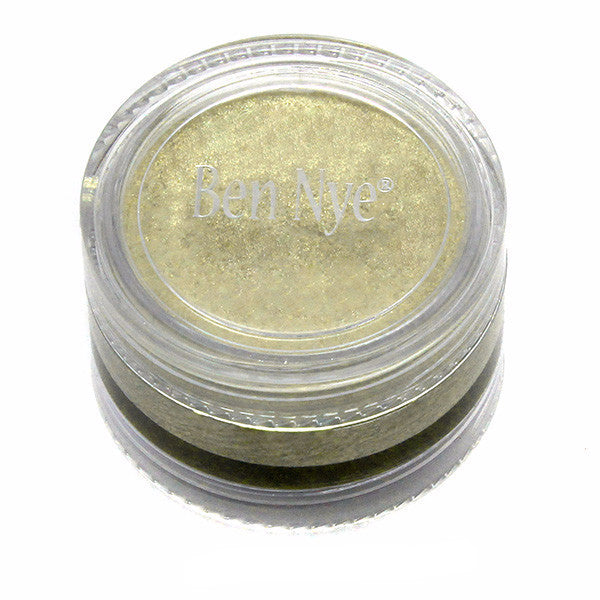 Ben Nye Lumiere Creme Colours - Iced Gold (LCR-2) | Camera Ready Cosmetics - 12