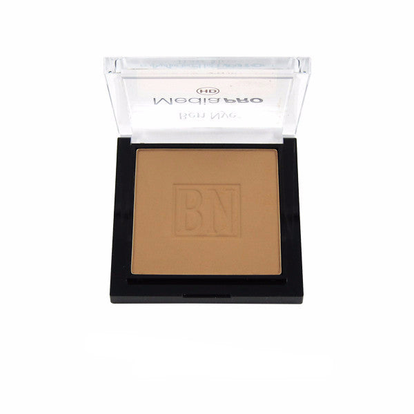 Ben Nye MediaPRO Mojave Poudre Compacts - Honey Spice MHC-35 | Camera Ready Cosmetics - 7