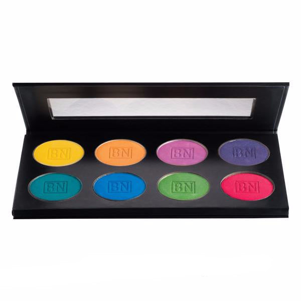 ALT - Ben Nye Lumiere Brilliant Shadow Palette 8-color - Camera Ready Cosmetics
