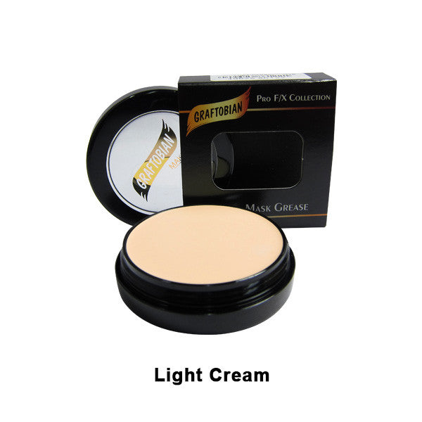 Graftobian Rubber Mask Grease (RMG) - Light Cream (86122) | Camera Ready Cosmetics - 27