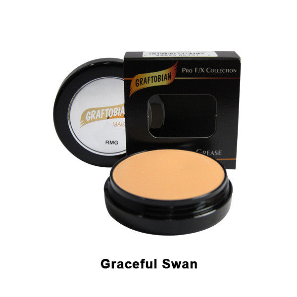 Graftobian Rubber Mask Grease (RMG) - Graceful Swan (86301) | Camera Ready Cosmetics - 24
