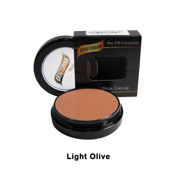 Graftobian Rubber Mask Grease (RMG) - Light Olive (86115) | Camera Ready Cosmetics - 28