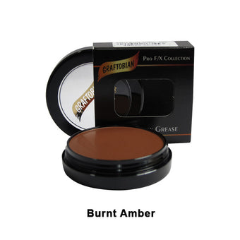 Graftobian Rubber Mask Grease (RMG) - Burnt Amber (86355) | Camera Ready Cosmetics - 9