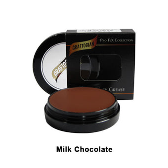 Graftobian Rubber Mask Grease (RMG) - Milk Chocolate (86068) | Camera Ready Cosmetics - 31