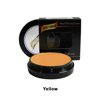 alt Graftobian Rubber Mask Grease (RMG) Yellow (86005)