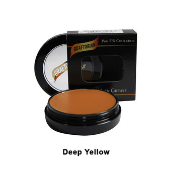 alt Graftobian Rubber Mask Grease (RMG) Deep Yellow (86034)