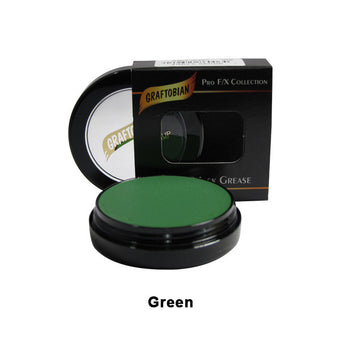 alt Graftobian Rubber Mask Grease (RMG) Green (86006)