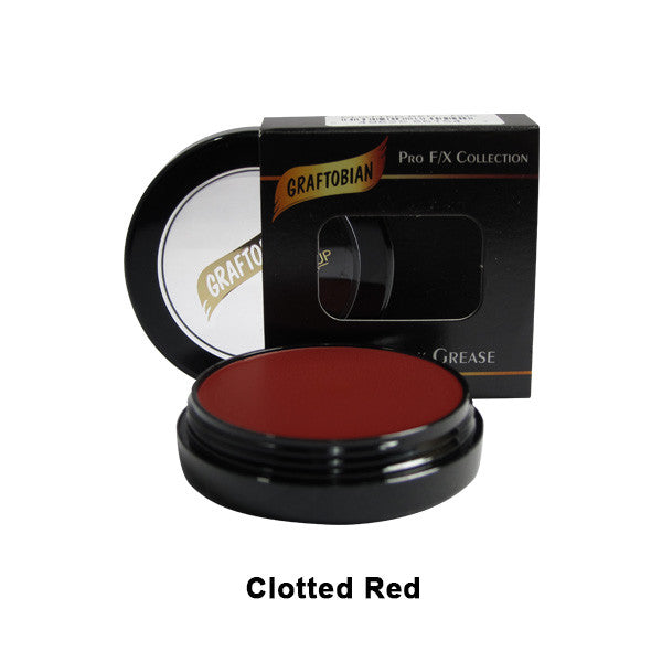 Graftobian Rubber Mask Grease (RMG) - Clotted red (86154) | Camera Ready Cosmetics - 12