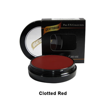 alt Graftobian Rubber Mask Grease (RMG) Clotted red (86154)