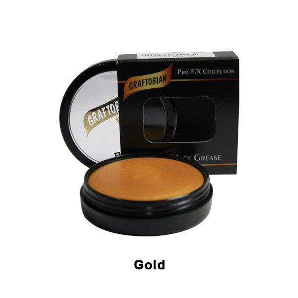Graftobian Rubber Mask Grease (RMG) - Gold (86014) | Camera Ready Cosmetics - 23