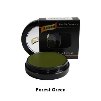 Graftobian Rubber Mask Grease (RMG) - Forest Green (86029) | Camera Ready Cosmetics - 21