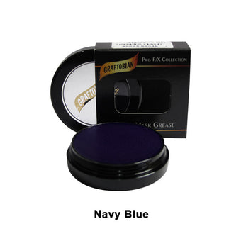 alt Graftobian Rubber Mask Grease (RMG) Navy Blue (86048)