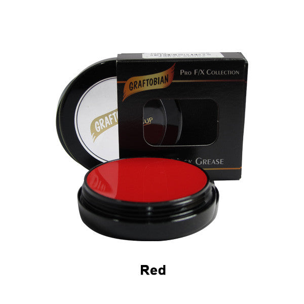 Graftobian Rubber Mask Grease (RMG) - Red (86003) | Camera Ready Cosmetics - 39