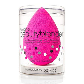 beautyblender® original (PINK) + mini blendercleanser® solid  | Camera Ready Cosmetics