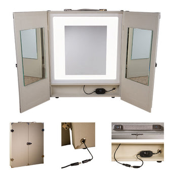 alt The Makeup Light - Portable Vanity Ivory