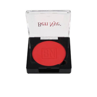 alt Ben Nye Powder Blush and Contour (Full Size) Coral Red (DR-2)