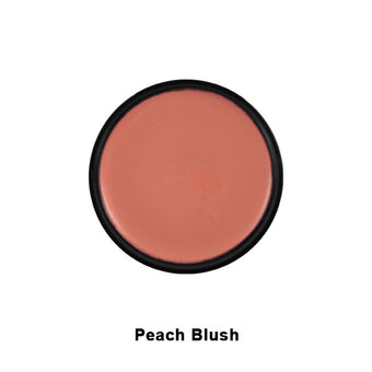 Graftobian Hi-Def Glamour Creme Blush - Peach Blush (30320) | Camera Ready Cosmetics - 6