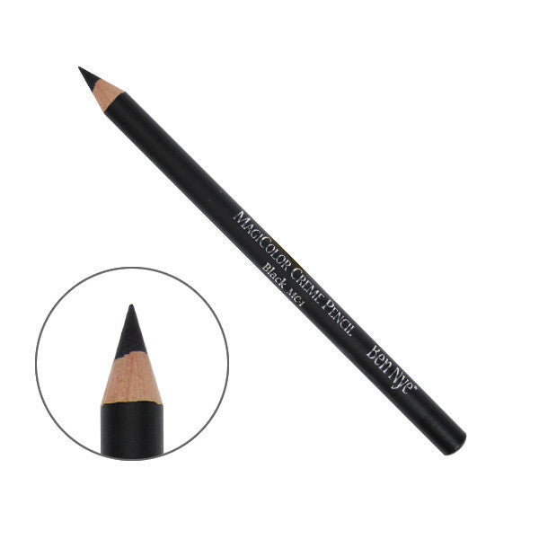 Ben Nye MagiColor Creme Pencil - Black (MC-1) | Camera Ready Cosmetics - 2