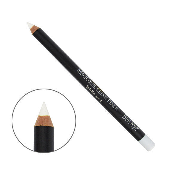 Ben Nye MagiColor Creme Pencil - White (MC-4) | Camera Ready Cosmetics - 6