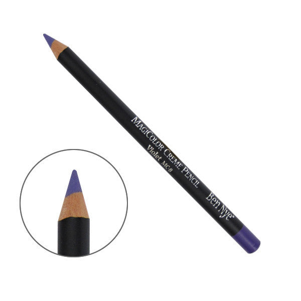 Ben Nye MagiColor Creme Pencil - Violet (MC-8) | Camera Ready Cosmetics - 8