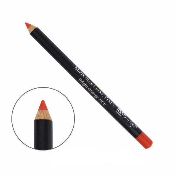 Ben Nye MagiColor Creme Pencil - Bright Orange (MC-11) | Camera Ready Cosmetics - 9