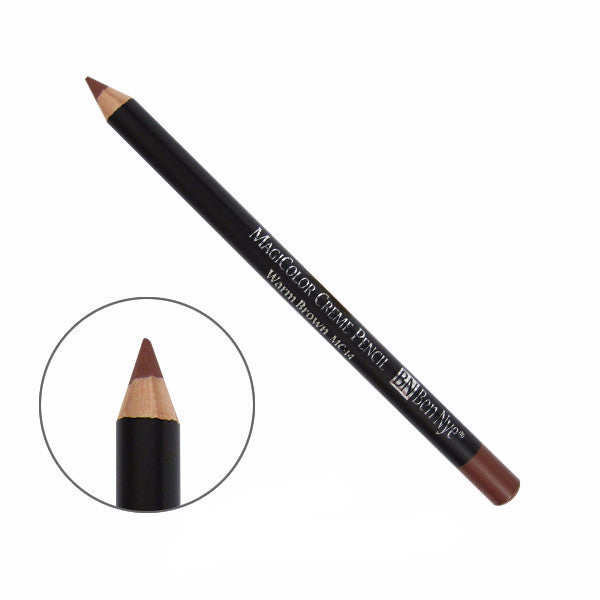 Ben Nye MagiColor Creme Pencil - Warm Brown (MC-14) | Camera Ready Cosmetics - 10