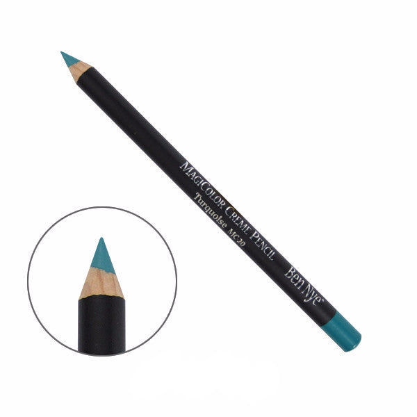Ben Nye MagiColor Creme Pencil - Turquoise (MC-20) | Camera Ready Cosmetics - 14