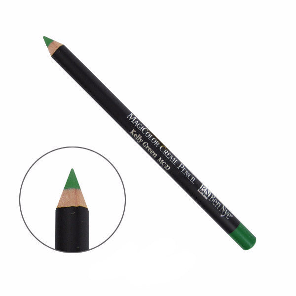 Ben Nye MagiColor Creme Pencil - Kelly Green (MC-23) | Camera Ready Cosmetics - 15