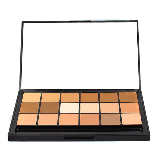 RCMA VK Foundation Palette - SHINTO #11  18-color | Camera Ready Cosmetics - 4