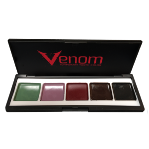 alt European Body Art - Venom Temporary Tooth Color Palettes SFX