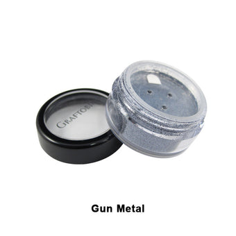 Graftobian Glitter Powder - Gun Metal (96115) | Camera Ready Cosmetics - 10