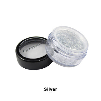 Graftobian Glitter Powder - Silver (96102) | Camera Ready Cosmetics - 24