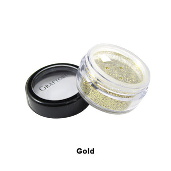 Graftobian Glitter Powder - Gold (96103) | Camera Ready Cosmetics - 7