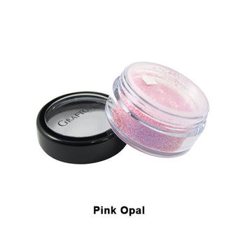 Graftobian Glitter Powder - Pink Opal (96111) | Camera Ready Cosmetics - 20