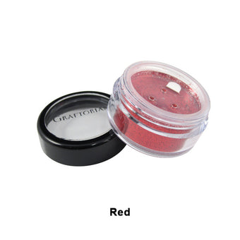 Graftobian Glitter Powder - Red (96104) | Camera Ready Cosmetics - 22