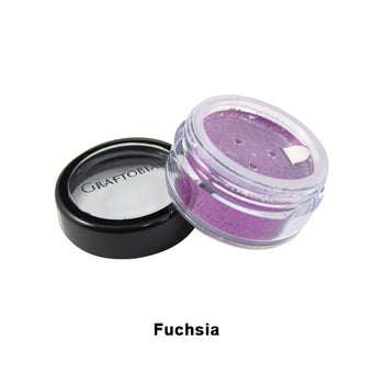Graftobian Glitter Powder - Fuchsia (96109) | Camera Ready Cosmetics - 6