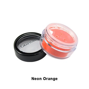 Graftobian Glitter Powder - Neon Orange (96120) | Camera Ready Cosmetics - 15