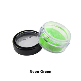 Graftobian Glitter Powder - Neon Green (96122) | Camera Ready Cosmetics - 14