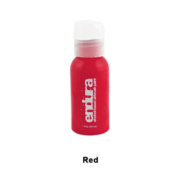 European Body Art Endura Airbrush Liquids - Red | Camera Ready Cosmetics - 13