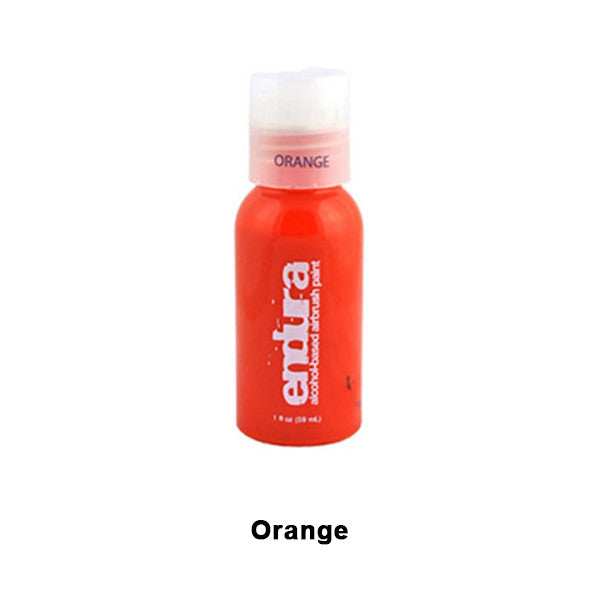 European Body Art Endura Airbrush Liquids - Orange | Camera Ready Cosmetics - 10