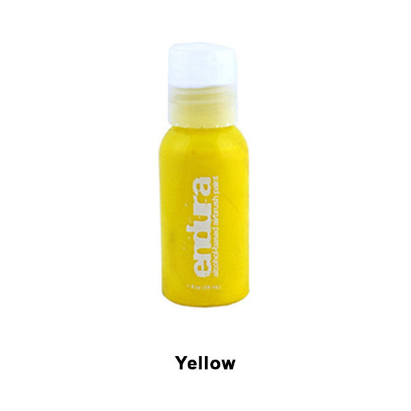 European Body Art Endura Airbrush Liquids - Yellow | Camera Ready Cosmetics - 15