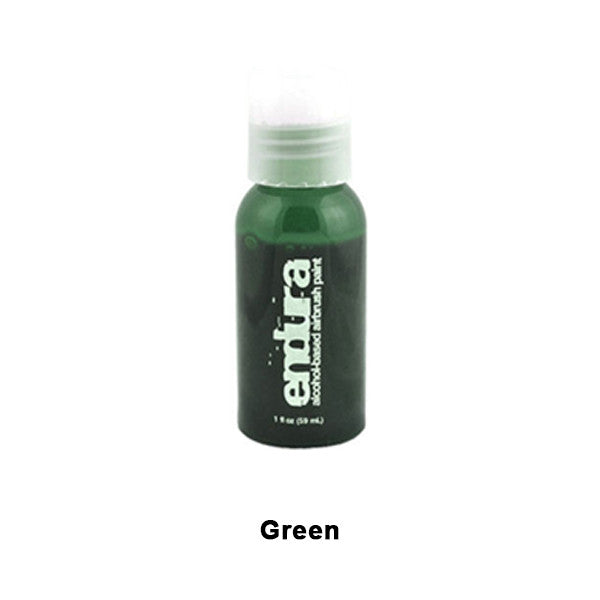 European Body Art Endura Airbrush Liquids - Green | Camera Ready Cosmetics - 9