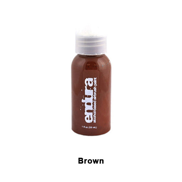 European Body Art Endura Airbrush Liquids - Brown | Camera Ready Cosmetics - 5