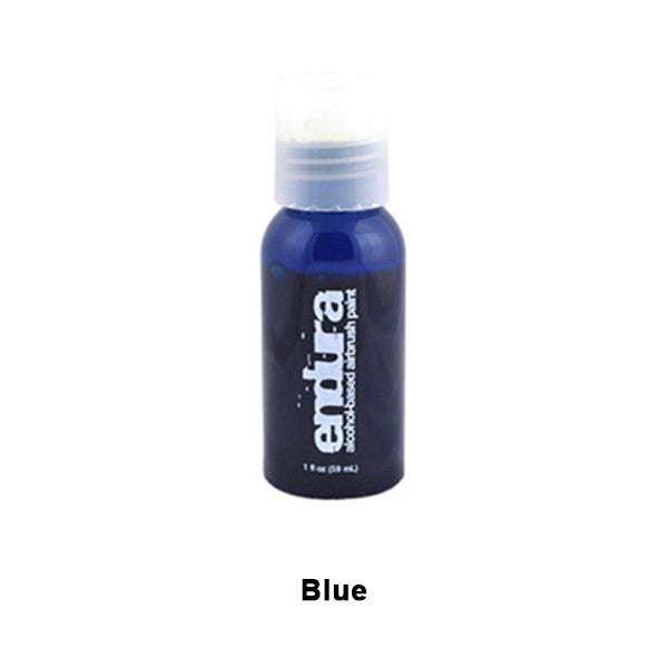 European Body Art Endura Airbrush Liquids - Blue | Camera Ready Cosmetics - 4