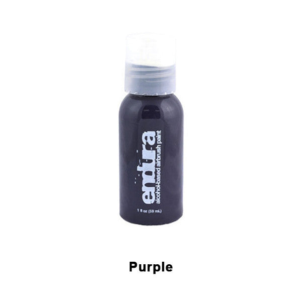 European Body Art Endura Airbrush Liquids - Purple | Camera Ready Cosmetics - 12
