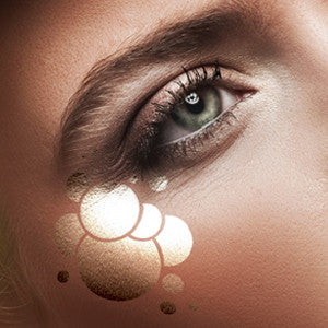 European Body Art Airbrush Makeup Stencils - Bubbles (FA0058) | Camera Ready Cosmetics - 2