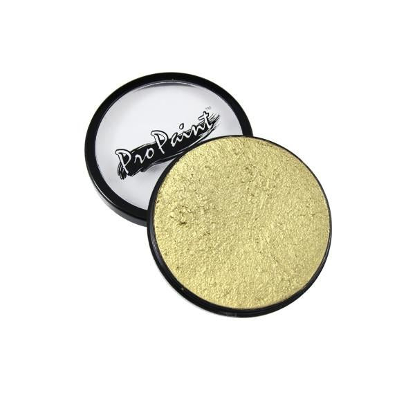 Graftobian ProPaints - Metallic - Gilded Gold (77013) | Camera Ready Cosmetics - 13