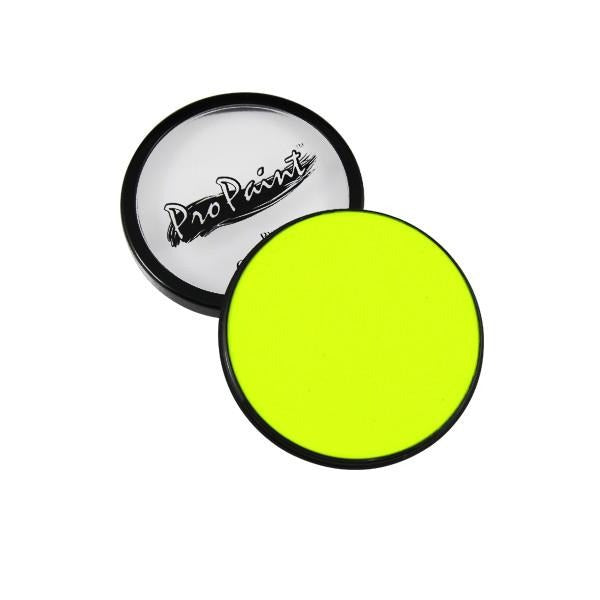 Graftobian ProPaints - Neon - Electric Yellow (77018) | Camera Ready Cosmetics - 17